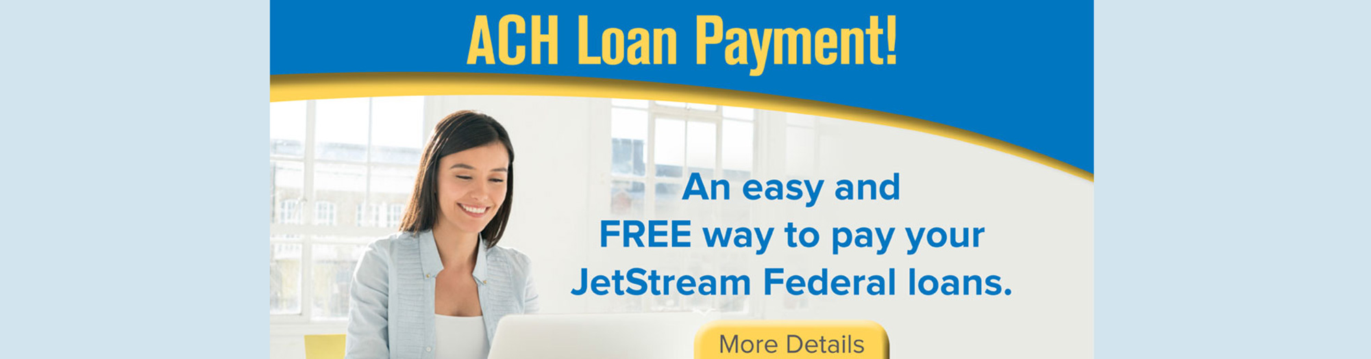 ACH Loan Payment, easy and FREE way to pay your loans
