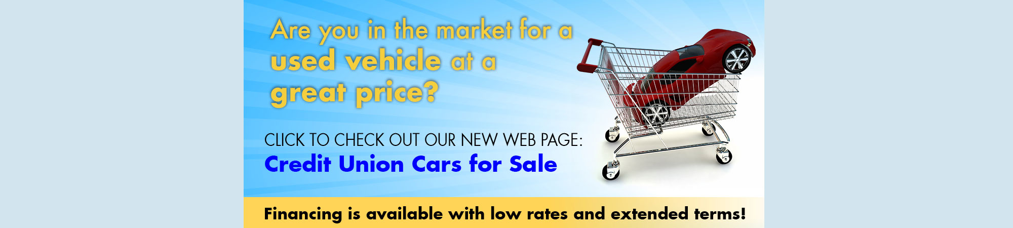 Are you in the market for a used vehicle at a great price?