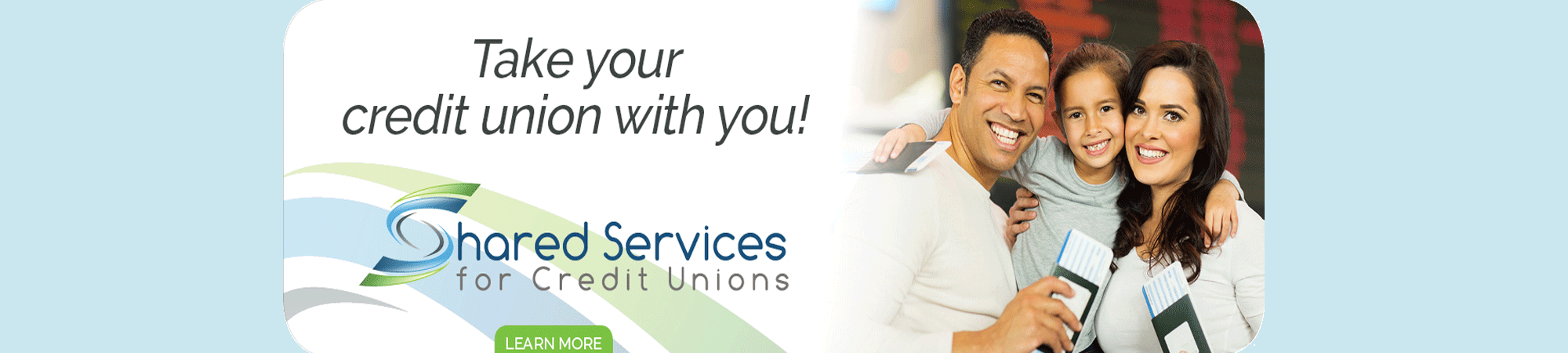Take your credit union with you.