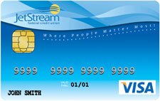 picture of a Jetstream FCU debit card